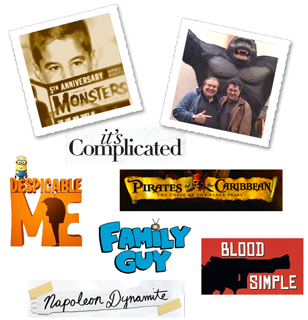 These are a few of the films that Michael Kriegsman created the trailers for