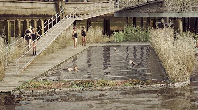 Blackfriars Baths 25m Lap Pool ©Studio Octopi & Picture Plane