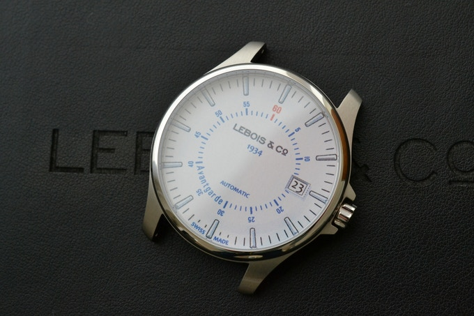 Case fitted 2D dial prototype