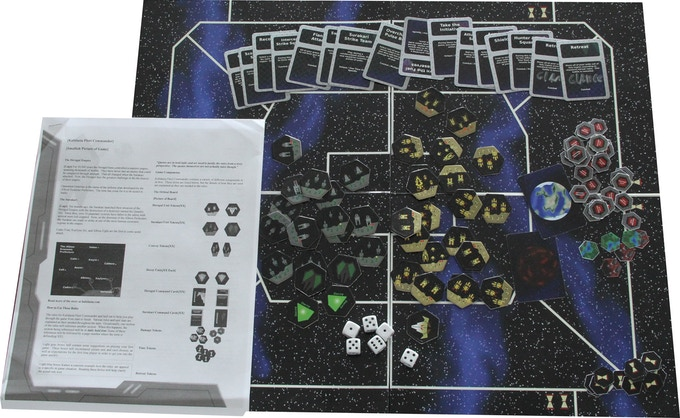 A Late Beta of the Kalidasia Fleet Commander Core Components