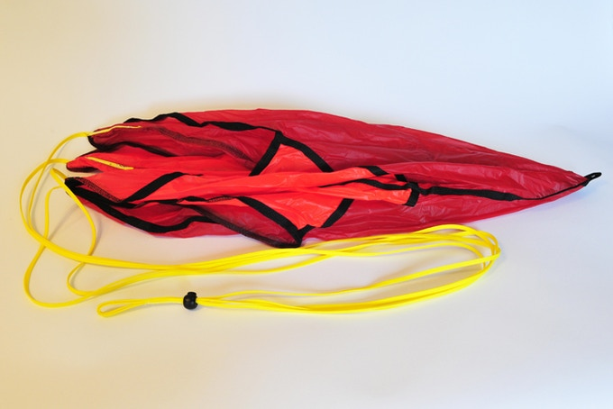 A parachute designed for small payloads