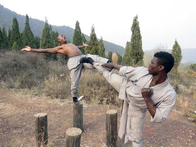 Wakaliwood at Shaolin Monastery in Henan Province, China