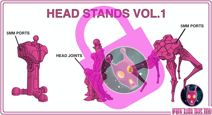 HEAD STANDS VOL.1 - currently locked