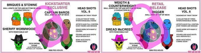 HEAD SHOTS VOL.6 - TWO-PACK - currently locked