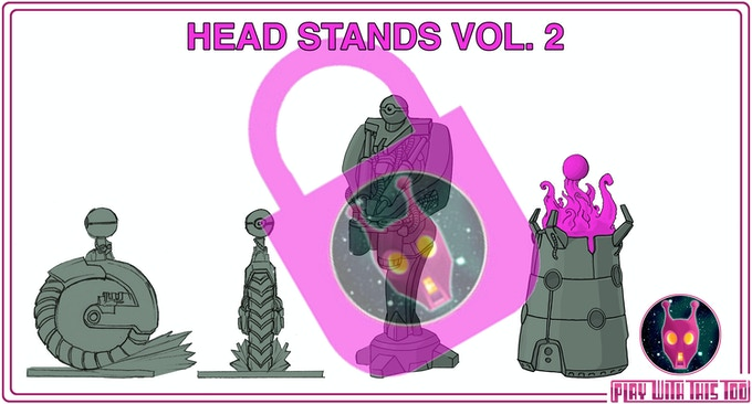 HEAD STANDS VOL.2 - currently locked