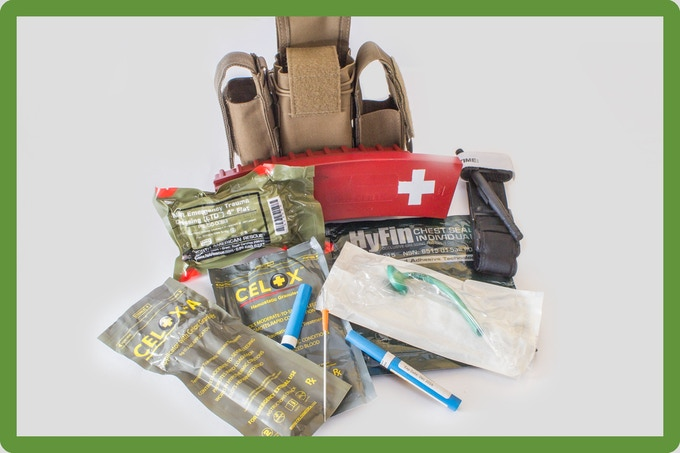 Ms.Clean Trauma Kit. For Serious Life Threatening Injuries.