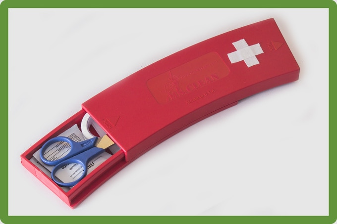 Ms.Clean Single First Aid Kit.   Add $35