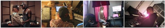 In the studio: Dev Hynes & Samantha Urbani, Rezzie Weird Magic, Terekke, Traxman