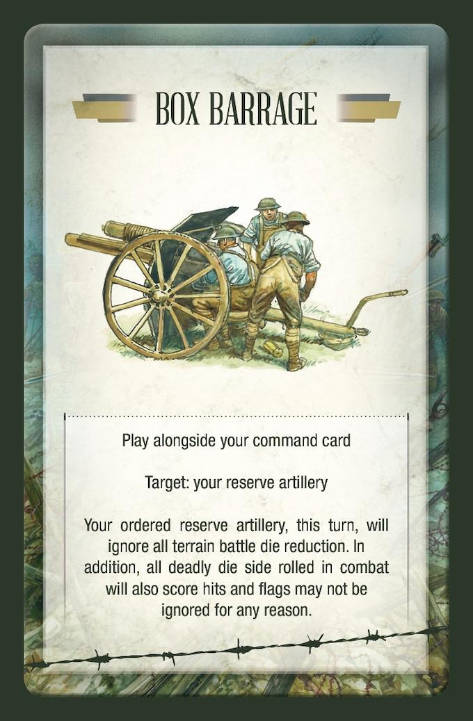 Combat card example