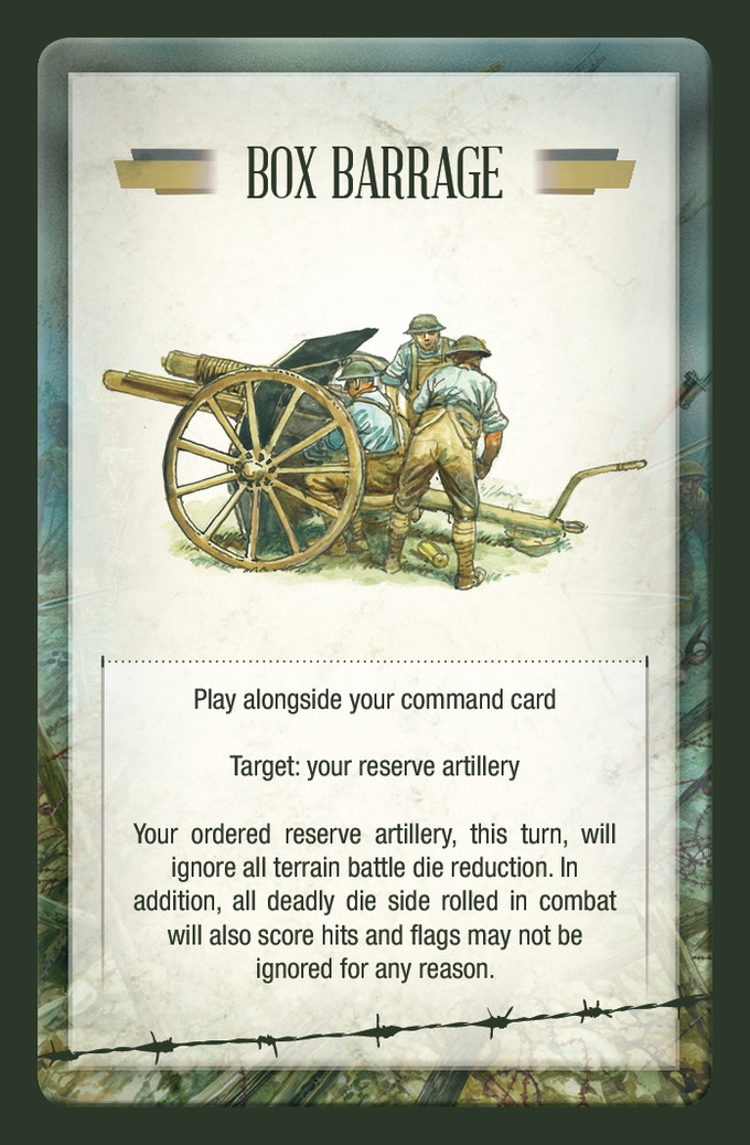 Combat card example