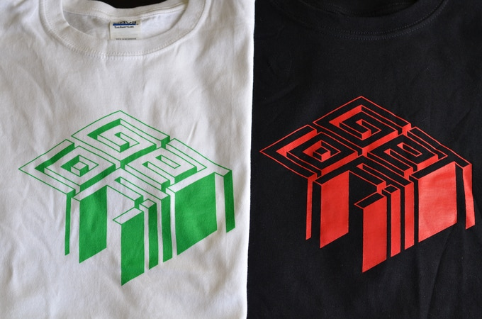 2 T-Shirt Options, we will contact you for size.