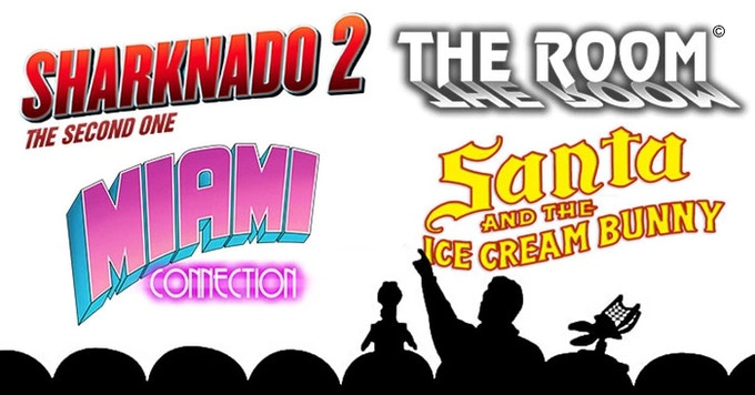 The guys from MST3K will riff these movies LIVE in theaters this year!