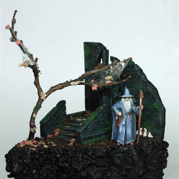 Gandalf by Gary Devereaux