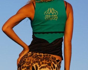 Back of Lotus Vest from Amae Love Designs