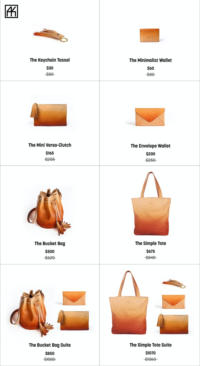 For more details behind the products, visit: www.shopayk.com