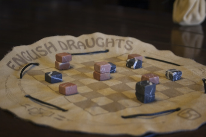 English Draughts in play