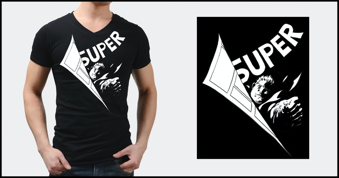 Limited-Edition Philip Tan Super Hero T-shirt