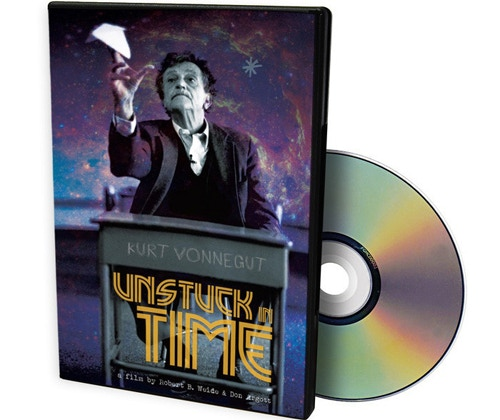 "For $50: Own the DVD of the completed film you helped finance: ""Kurt Vonnegut: Unstuck in Time."" Includes lower tier digital rewards and KVML membership."