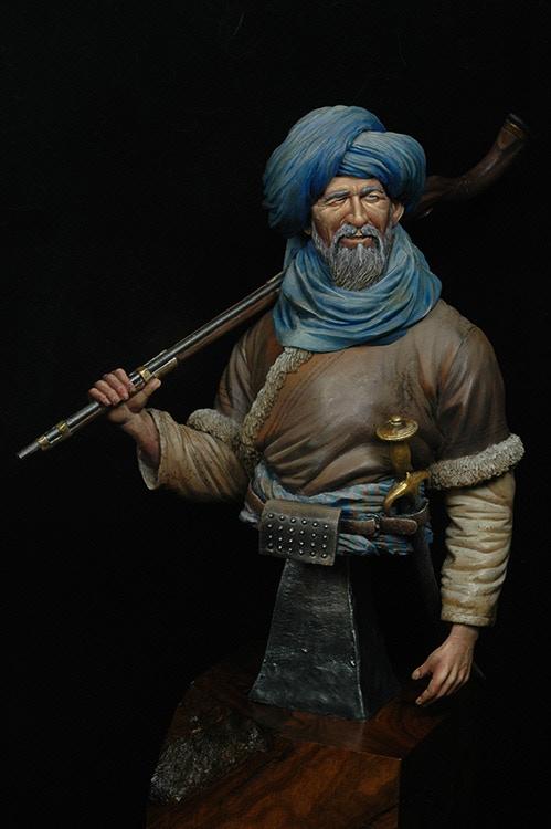 Afghan Tribesman by John Keys