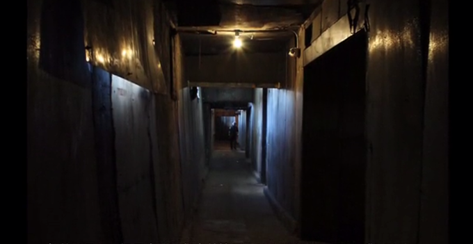 much of Gehenna takes place in an eerie underground bunker
