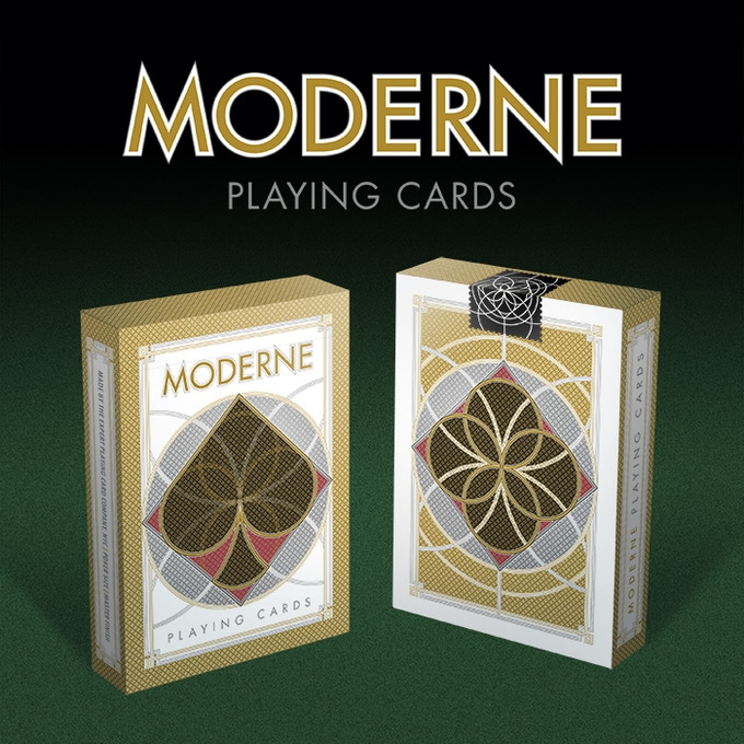 Moderne Playing Cards Tuck Box