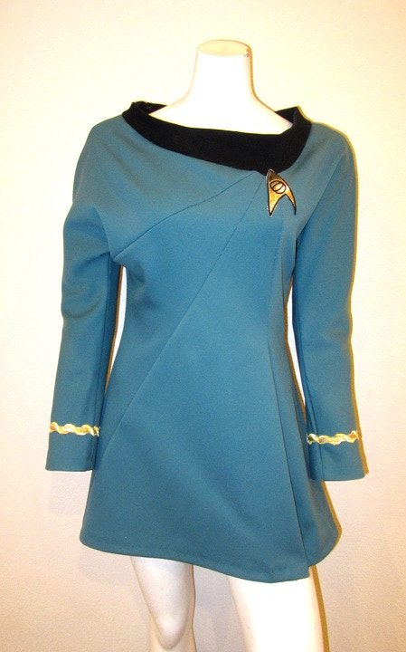 3rd Season Uniform Fabric - Accurate to 1968/69 Star Trek by J ...