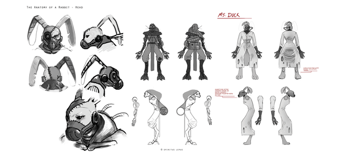 Robomo, Empress & Duckface