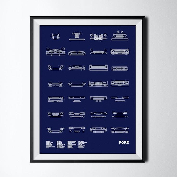 Auto Icon Screen Prints By Jerome Daksiewicz —Kickstarter