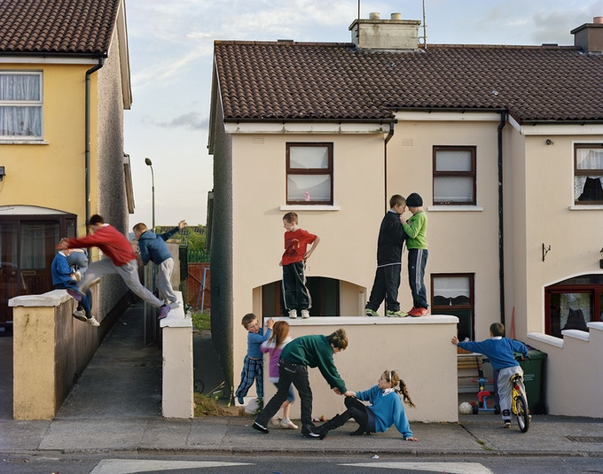 Jumping the Wall, Russell Heights, Cobh, Ireland, 2010
