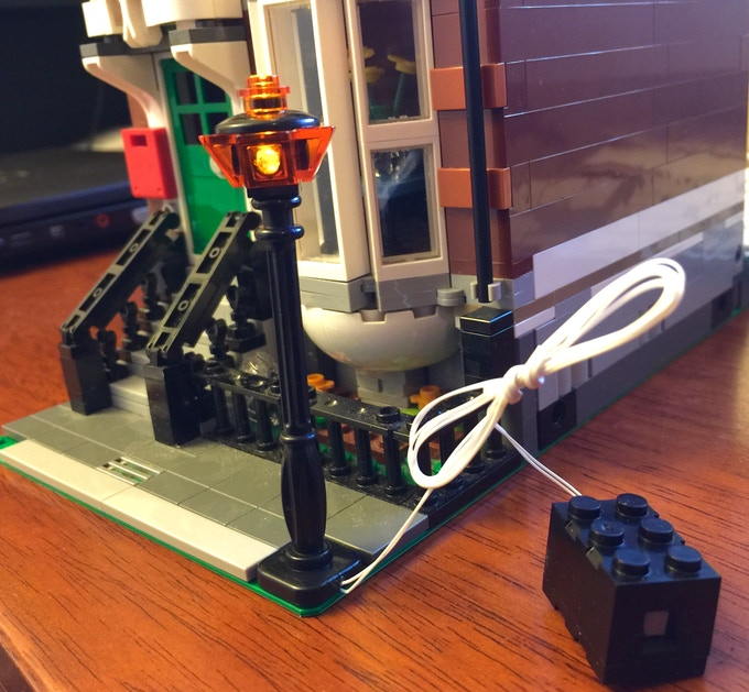 Light Poles Plus: LEGO Electric Lightup Classic Street Pole For Creator By