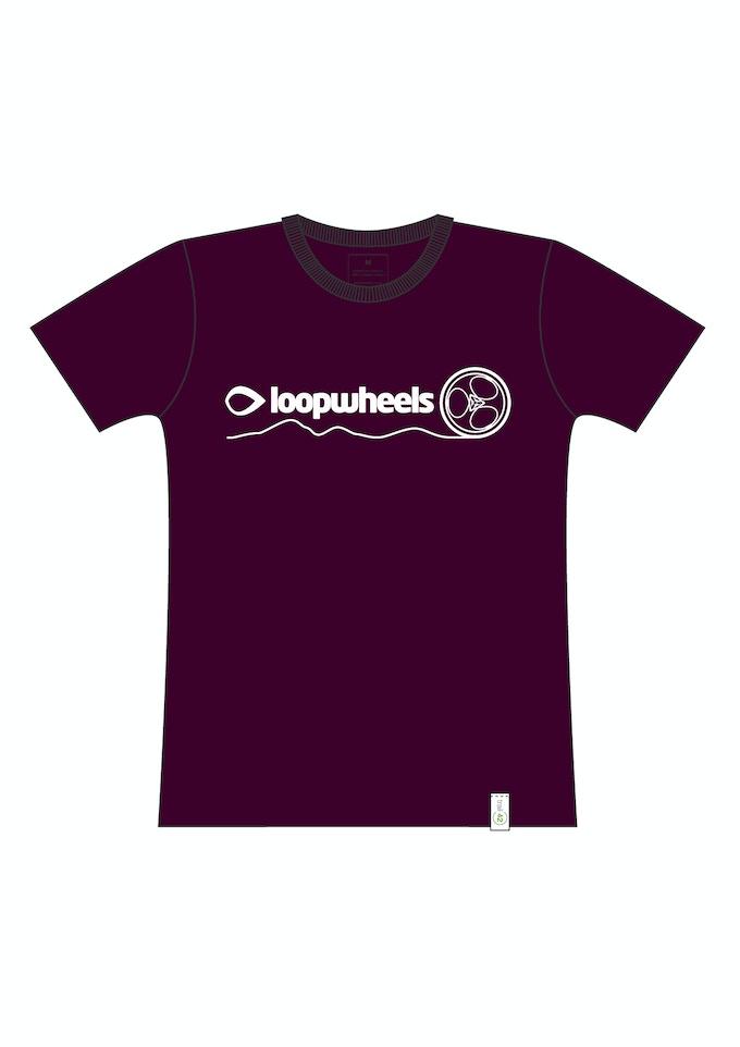 Trail 42's T-shirt design for Loopwheels