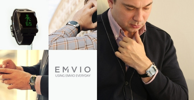 Our men's watch, called the Romeo