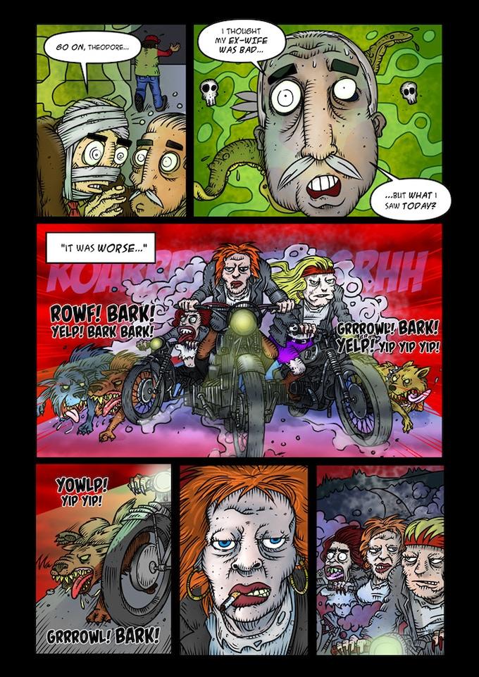 Issue #2 Artwork
