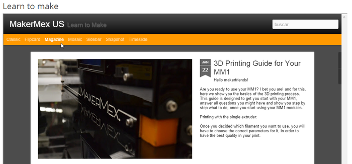 MM1 Modular 3D Printer - Customize Your Printing Experience by