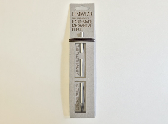 Single pencil option with packaging finalised.