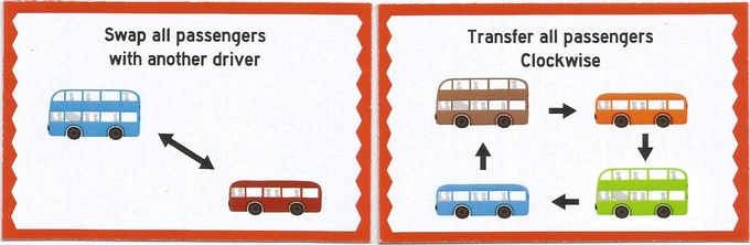 Swap and Transfer Passenger Cards