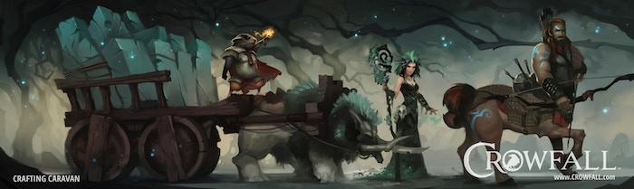 Crowfall Throne War Simulator Kickstarter Funded Stretch Goals Announced