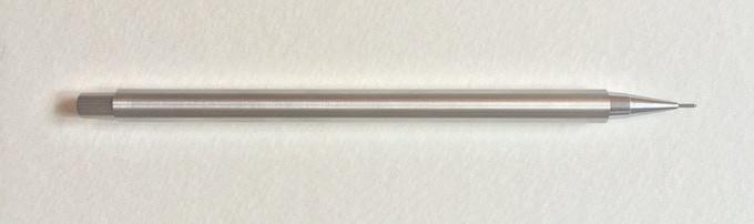 Stainless Steel with Steel nib.