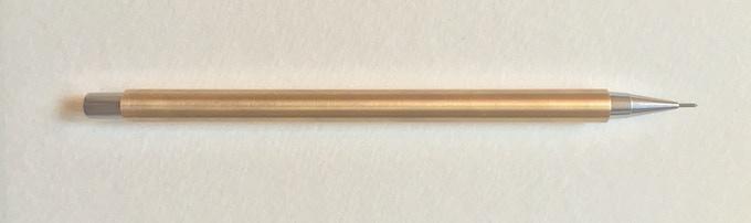 Brass with Steel nib