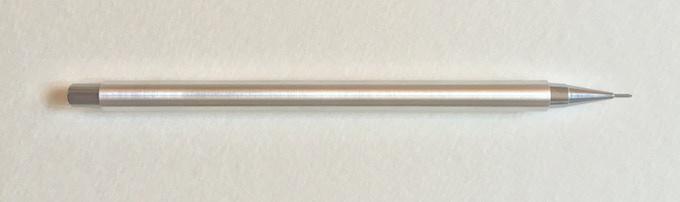 Aluminium with Steel nib