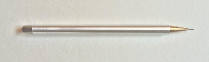 Aluminium with Brass nib