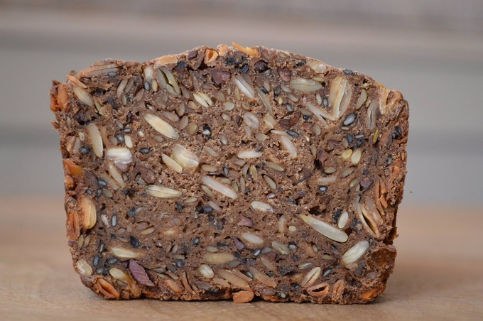 our beautiful seeded bread