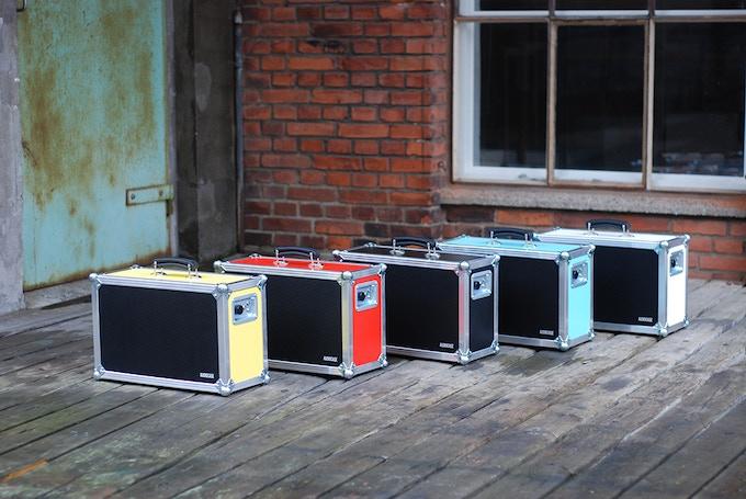 Audiocase Portable Sound System By Audiocase Kickstarter