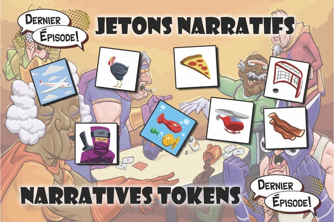 Narratives tokens example
