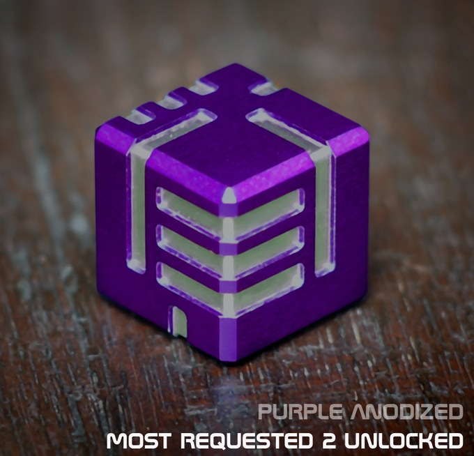 AKO DICE - Most Requested 2 Unlocked, Purple Anodized!
