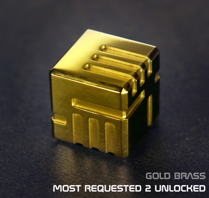 AKO DICE - Most Requested Unlocked, Gold Brass!