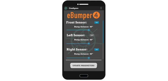 eBumper4 Configuration Interface Mock-Up