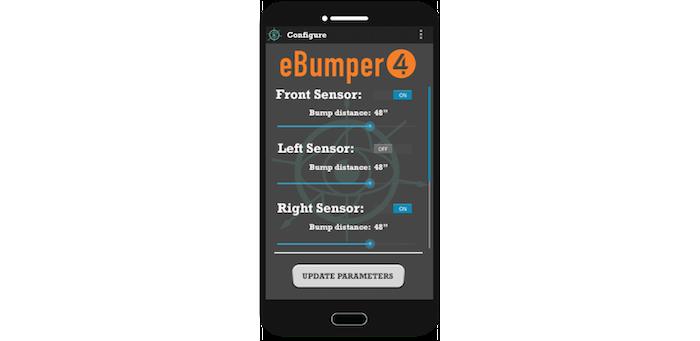 eBumper4 Configuration Interface Mock-Up