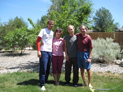 Aaron, Iris, Rick, and Les—Colorado Springs, CO
