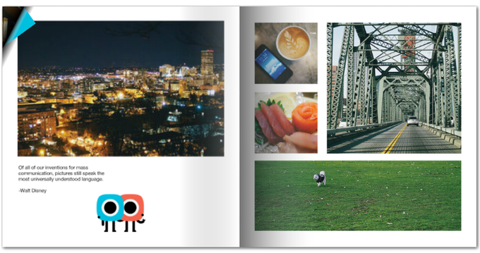 Photobooks make a perfect gift to share with friends and loved ones!